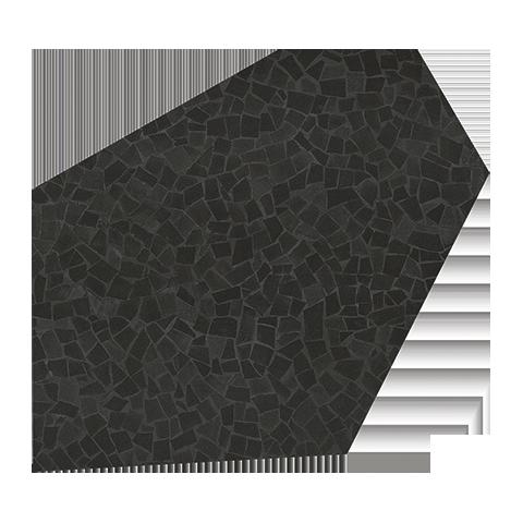 ROMA DIAMOND CALEIDO FRAM BLACK GLANZ 37X52 GESCHLIFFEN FAP CERAMICHE