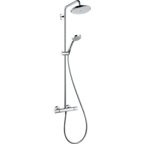 CROMA SHOWERPIPE 220 1JET MIT THERMOSTAT HANSGROHE