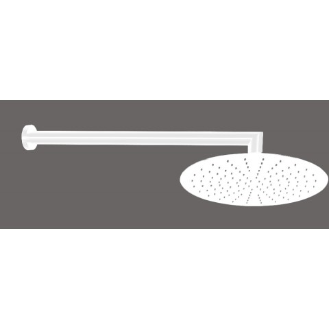 DIVINA BIANCO KOPFBRAUSE DURCHMESSER 25cm + DUSCHARM ITALMIX