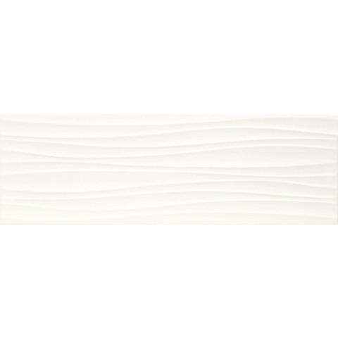 ABSOLUTE WHITE STRUTT. TWIST 3D SATINATO 25X76 MARAZZI